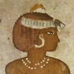 Серьги времен египетских фараонов