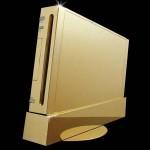 Инкрустированная бриллиантами и золотом приставка Nintendo Wii