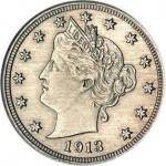 Монета  «Голова статуи Свободы»