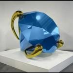 "Джефф Кунс, ""Blue Diamond"