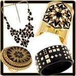 Ювелирные украшения черное золото