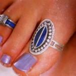 Кольца украшающие пальцы ног