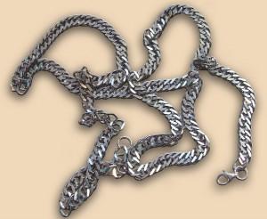 Панцирное плетение цепочки