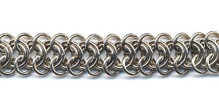 Ленточный тип плетения цепочки