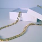Плетение цепочки Фигаро