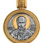 Образок «Св. Николай Чудотворец.Чудо о трех корабельщиках»
