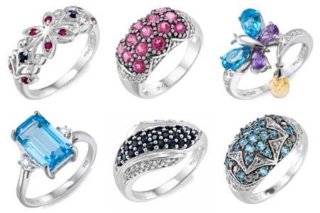 """Коллекция из серебра """"RuSilver"""" в интернет-магазине Shop.JewelGold.r"""
