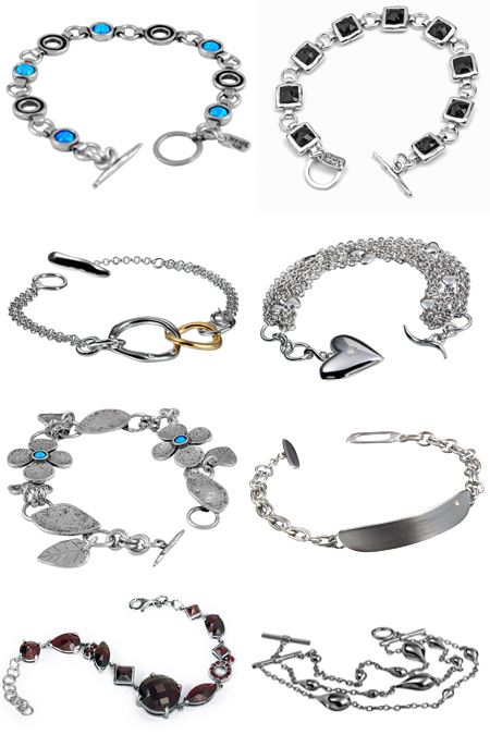 Браслеты из серебра на Shop.JewelGold.ru