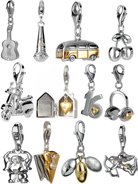 Талисманы из серебра с бриллиантами на Shop.JewelGold.ru