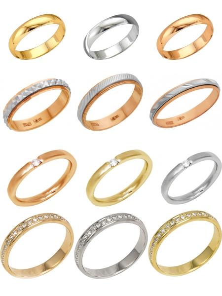 Обручальные кольца на Shop.JewelGold.ru