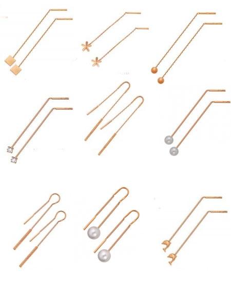 купить золотые серьги