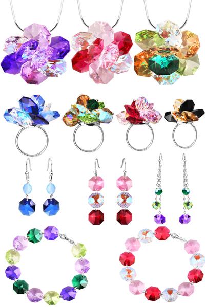 Коллекция серебра с кристаллами Сваровски на Shop.JewelGold.ru