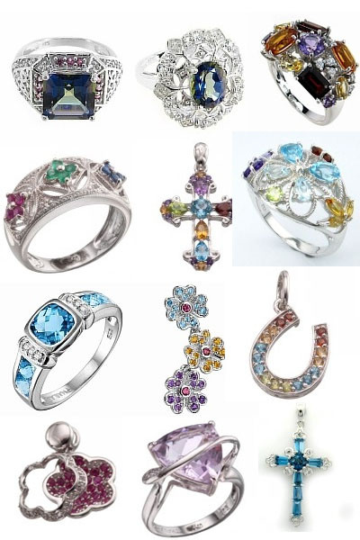 Коллекция серебра Jetty на Shop.JewelGold.ru
