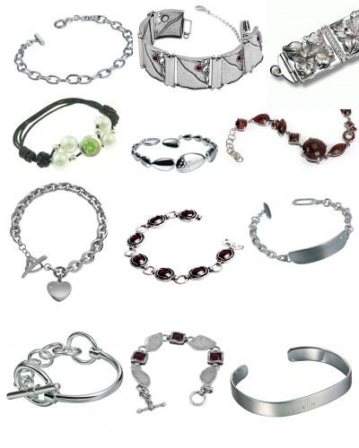 Браслеты из серебра на SAhop.JewelGold.ru