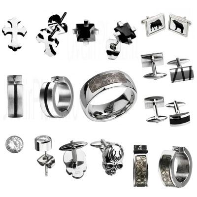 Мужские украшения из стали на Shop.JewelGold.ru