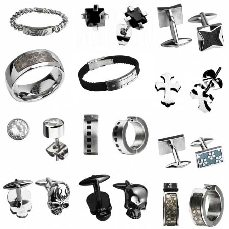 Стальные украшения для мужчин на Shop.JewelGold.ru