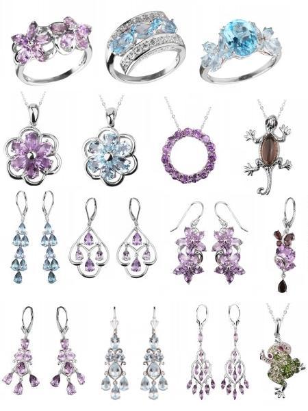 Коллекция серебра Sandara на Shop.JewelGold.ru
