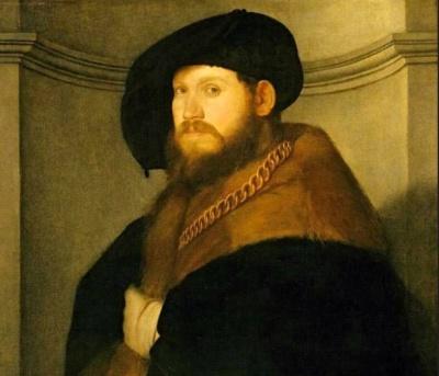 ЛУТЕРО ДЖОВАННИ ДИ: Портрет мужчины с золотой цепью