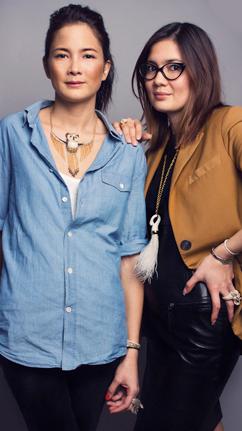 Нэнси и Надя Nach Jewellery