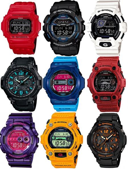 Часы Casio G-SHOCK интернет-магазине www.G-Shock1.ru