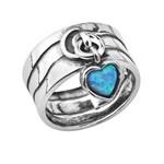 Кольцо Shablool R193. Опал, Серебро 925, Израиль