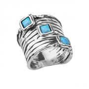 Кольцо Shablool R622OP. Опал, Серебро 925, Израиль
