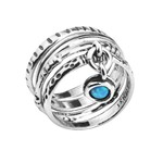 Кольцо Shablool R833. Опал, Серебро 925, Израиль