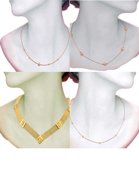 Колье из золота на Shop.Jewelgold.ru