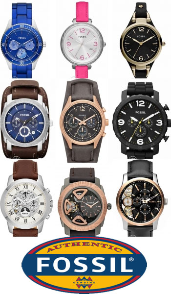 Часы Fossil на www.Timer-Watch.ru