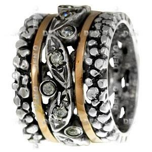 Кольцо из серебра Deno