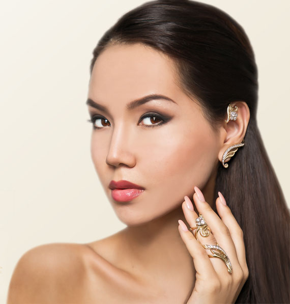 Каффы Узор Утум на Shop.Jewelgold.ru
