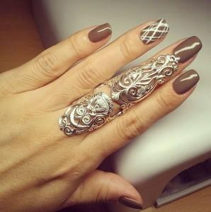 Кольца на весь палец