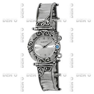 Часы из серебра с бирюзой 01W005TQ