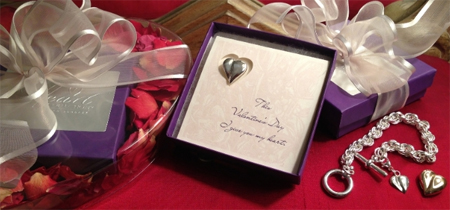 Подарками на День Святого Валентина