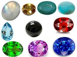 Цвет ювелирных камней