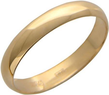 Обручальное кольцо из красного золота в интернет-магазине Shop.JewelGold.ru
