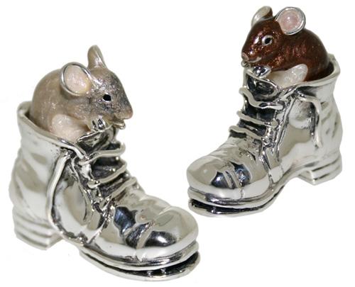 Статуэтка Мышь в ботинке