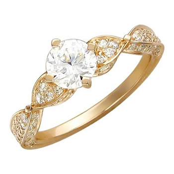 Кольцо серебряное 01К156257А