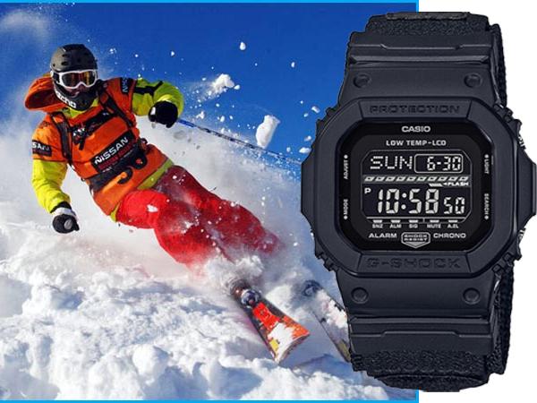 Часы Casio для лыжников