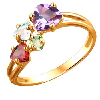 Кольцо золотое 01К315674-5