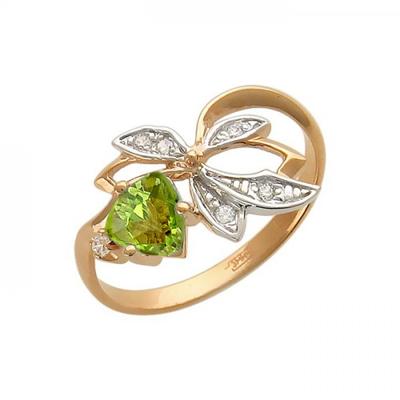 Кольцо золотое с хоизолитом