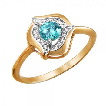 Кольцо золотое 01К2111475Р-3