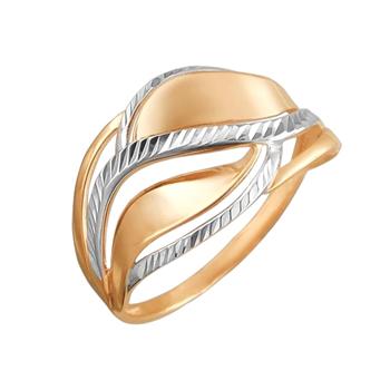 Кольцо из комбинированного золота 01К7110367Р
