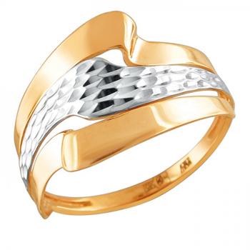 Кольцо из красного золота 01К7111943Р