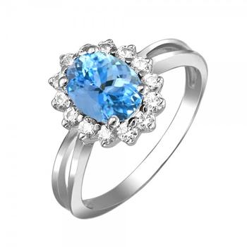 Кольцо из серебра 01К258519-4