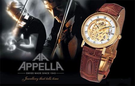 Наручные часы от Appella для мужчин и женщин