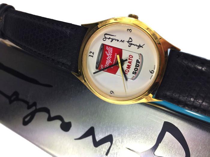 Часы от Andy Warhol